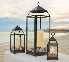 Malta Lantern-Bronze Finish