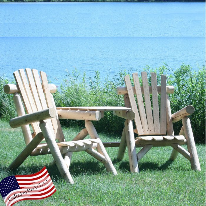 Lakeland Mills Visa-Tete Adirondack Tete-A-Tete