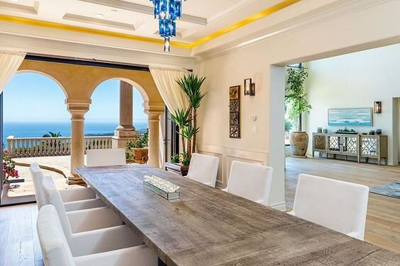 Looking for a chateau in Malibu? I found it for you…A grand entry scaled with palatial heights welcomes you to an incredible panorama of endless windows overlooking the boundless and infinite waters of the Pacific Ocean. Just under 10 million…make an offer…  View