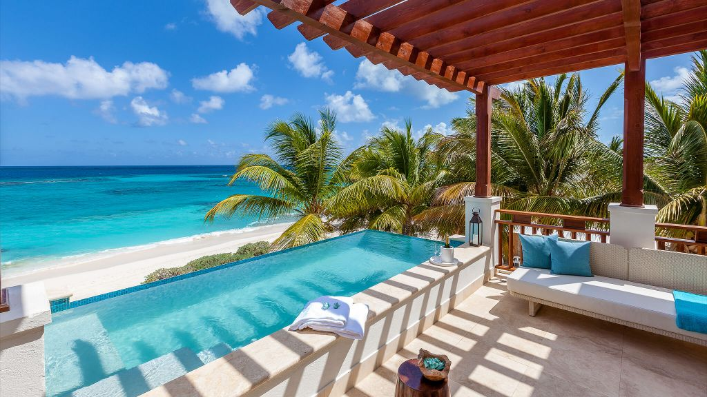 A trip to paradise in Anguilla…see more of this resort   here  .