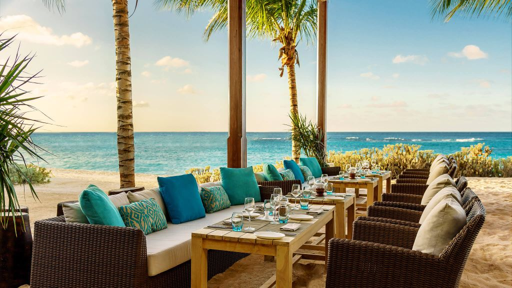 Now this is a view to dine by! Escape to Anguilla.