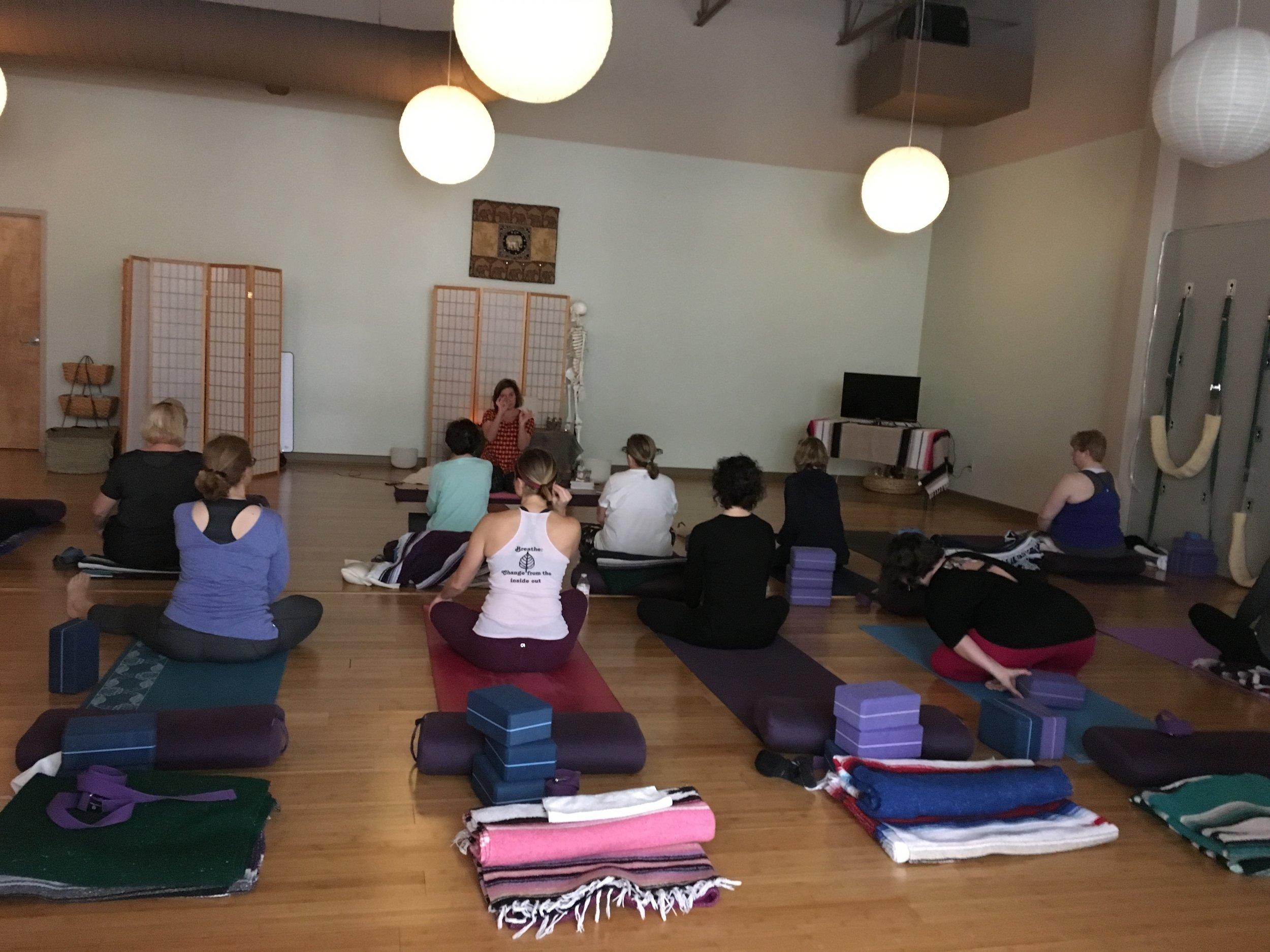 KC Yoga Center Advanced Sequencing