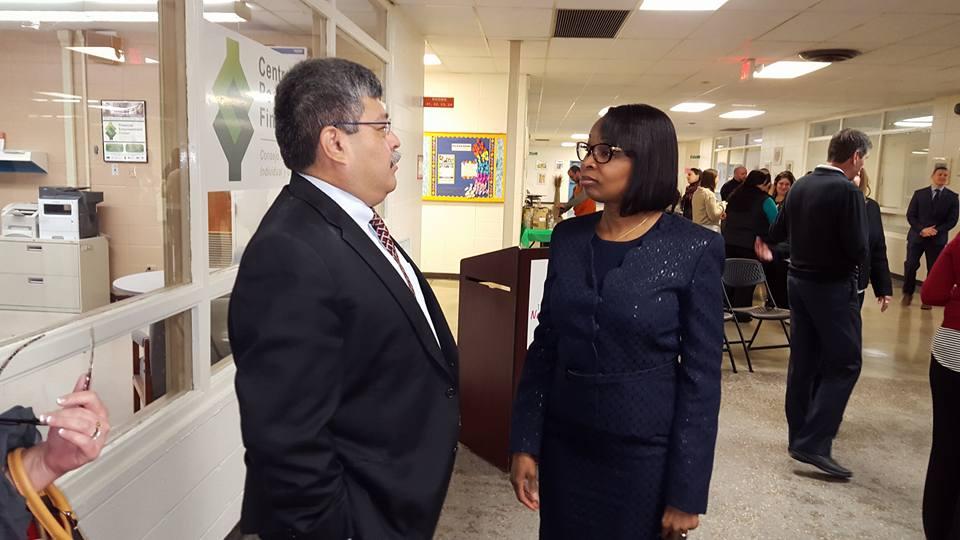 Arthur Cavazos meets with former San Antonio Mayor Taylor