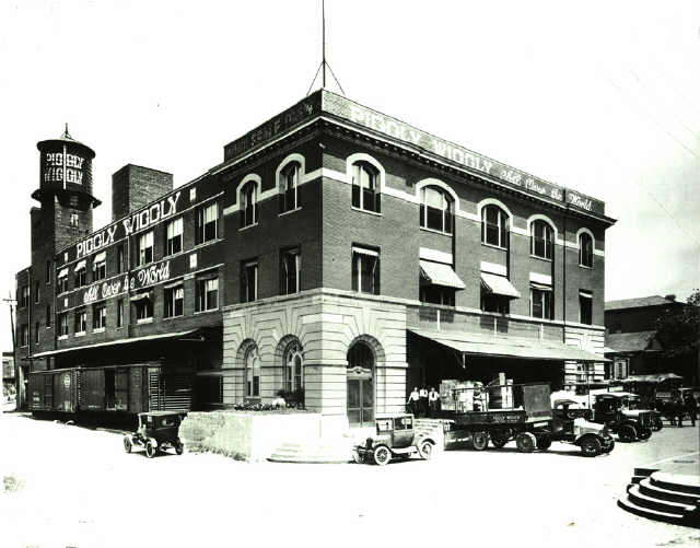 The Piggly Wiggly headquarters on Nettleton at Front is now The Nettleton Condos.