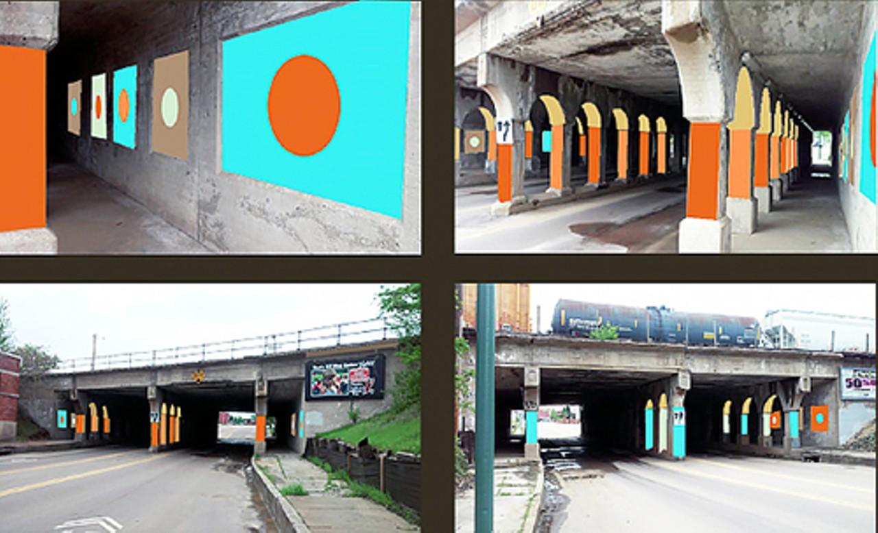South Main Underpass Art