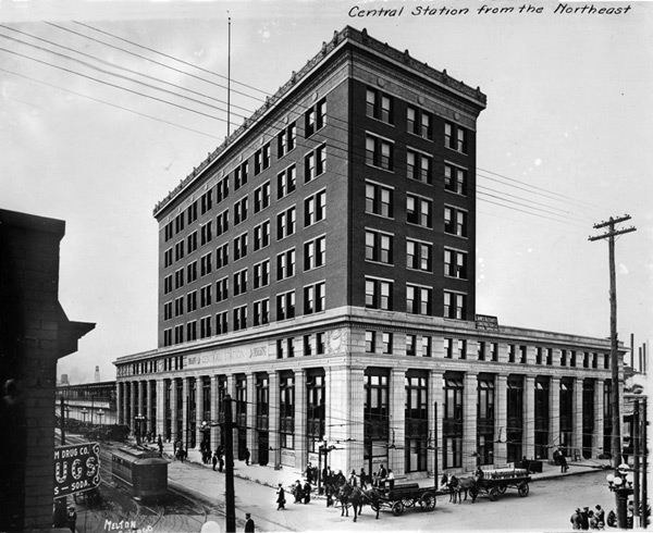 Newly opened Central Station, The Digital Archive of the Memphis Public Library & Information Center