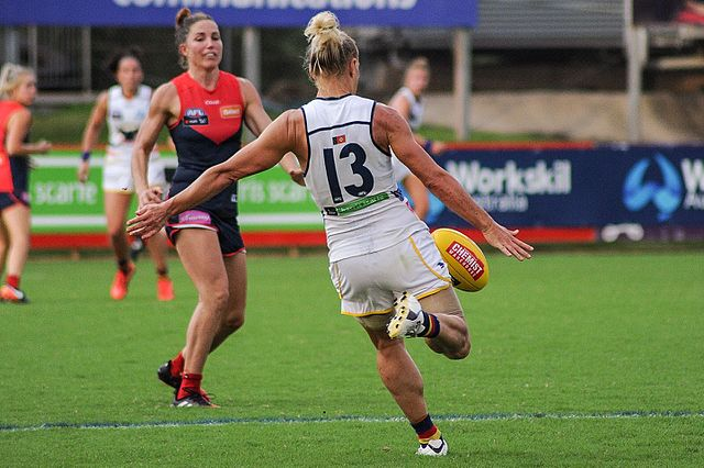 "Erin Phillips' success in the new AFLW competition ""has put WNBL on the map"" for AFL recruiters says Sally Phillips. Photo: flickerd"
