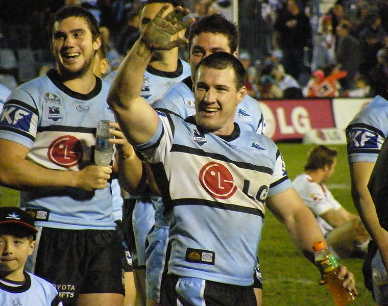Freed of Origin duties, Paul Gallen has remained a thorn in opposition sides and ranks second in total metres run. (Photo: paddynapper)
