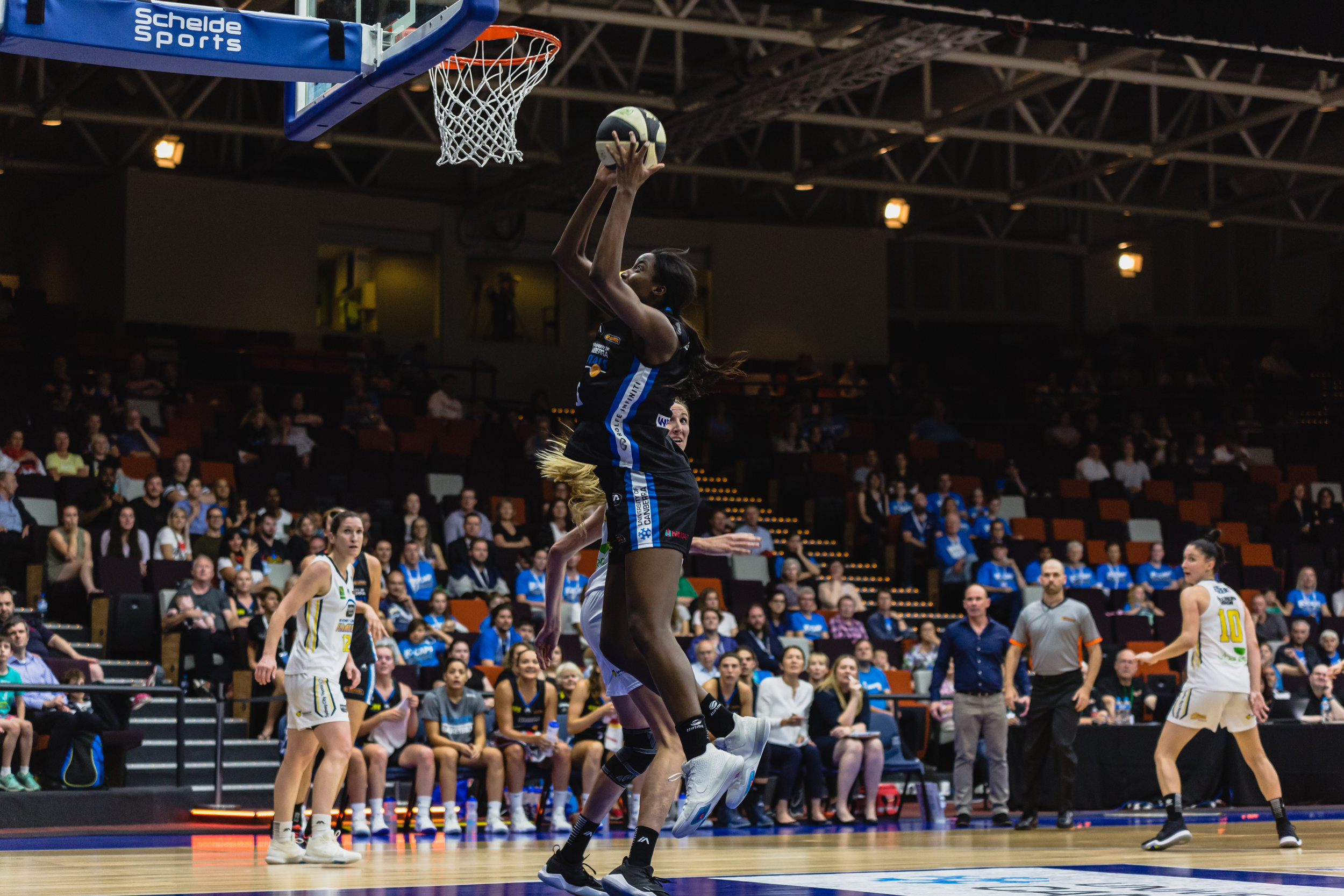 Ezi Magbegor collected 3.75 rebounds per game, but her rebounds per minute numbers were among the best in the league. (Photo: 5 Foot Photography)