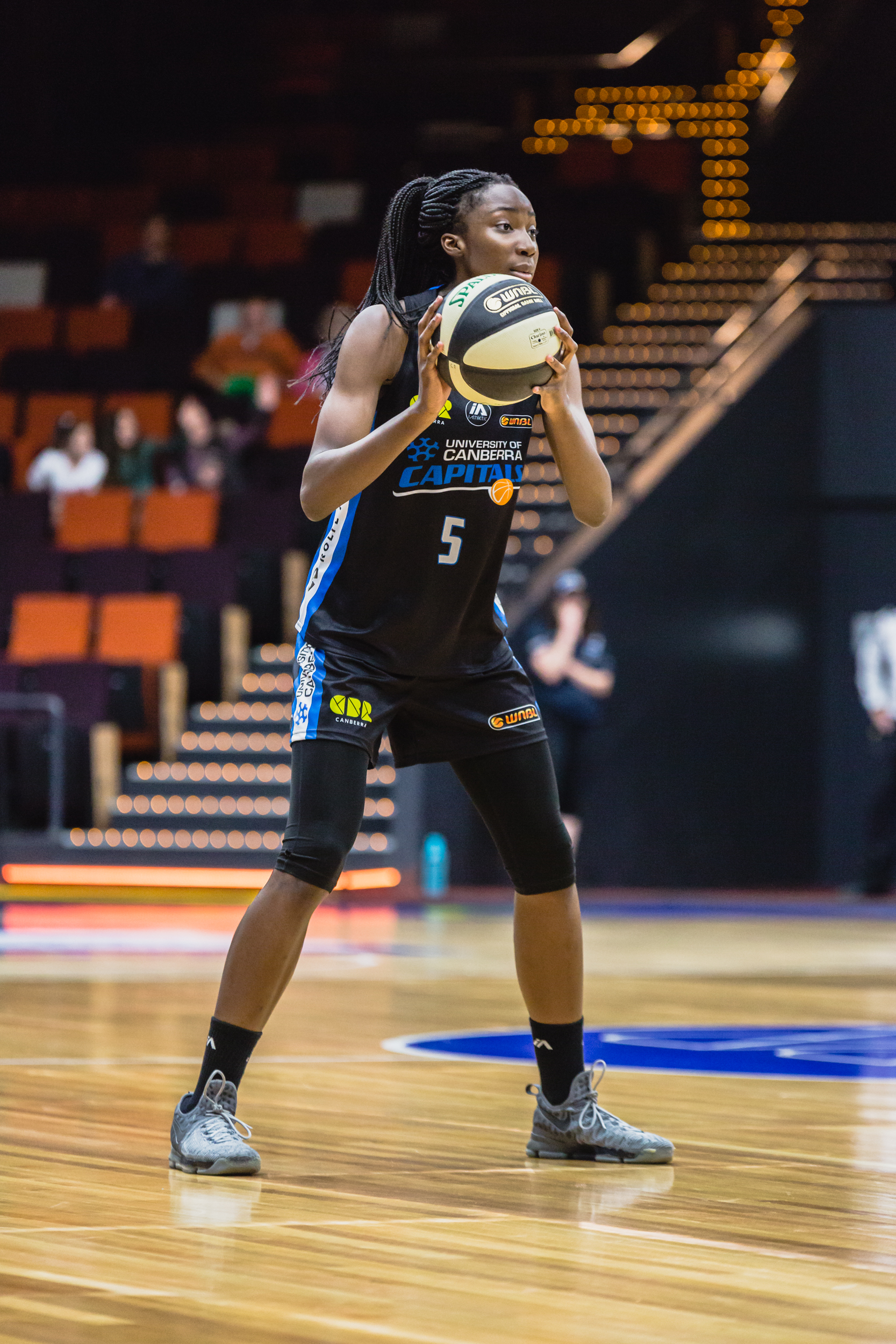 Magbegor joins giants of the game such as Lauren Jackson, Laura Hodges and Abby Bishop as winners of the Betty Watson Rookie of the Year. (Photo: 5 Foot Photography)