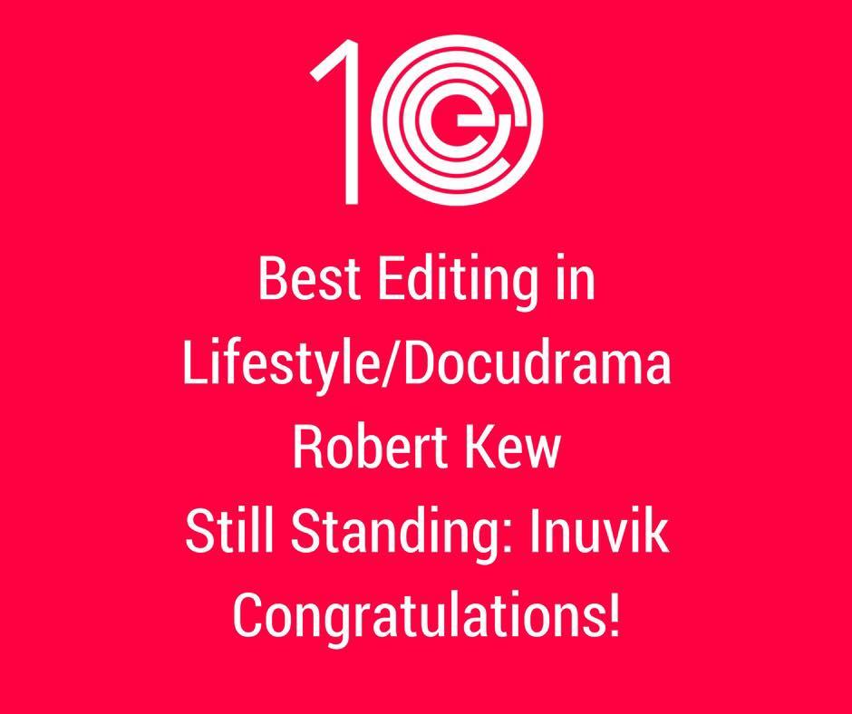 Best Editing in Lifestyle/Docudrama
