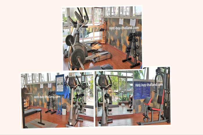 Jomtien Beach Condo Fitness Center