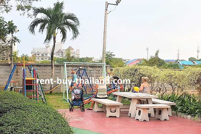 Jomtien Beach Condo - Children's Play Area