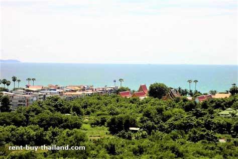 Sea view property Jomtien
