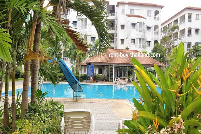 Baan Suan Lalana Swimming Pool Area