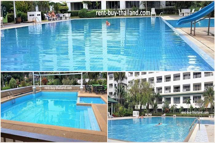 Three Swimming Pools