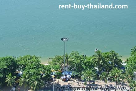 Jomtien Plaza Beach and Sea Views