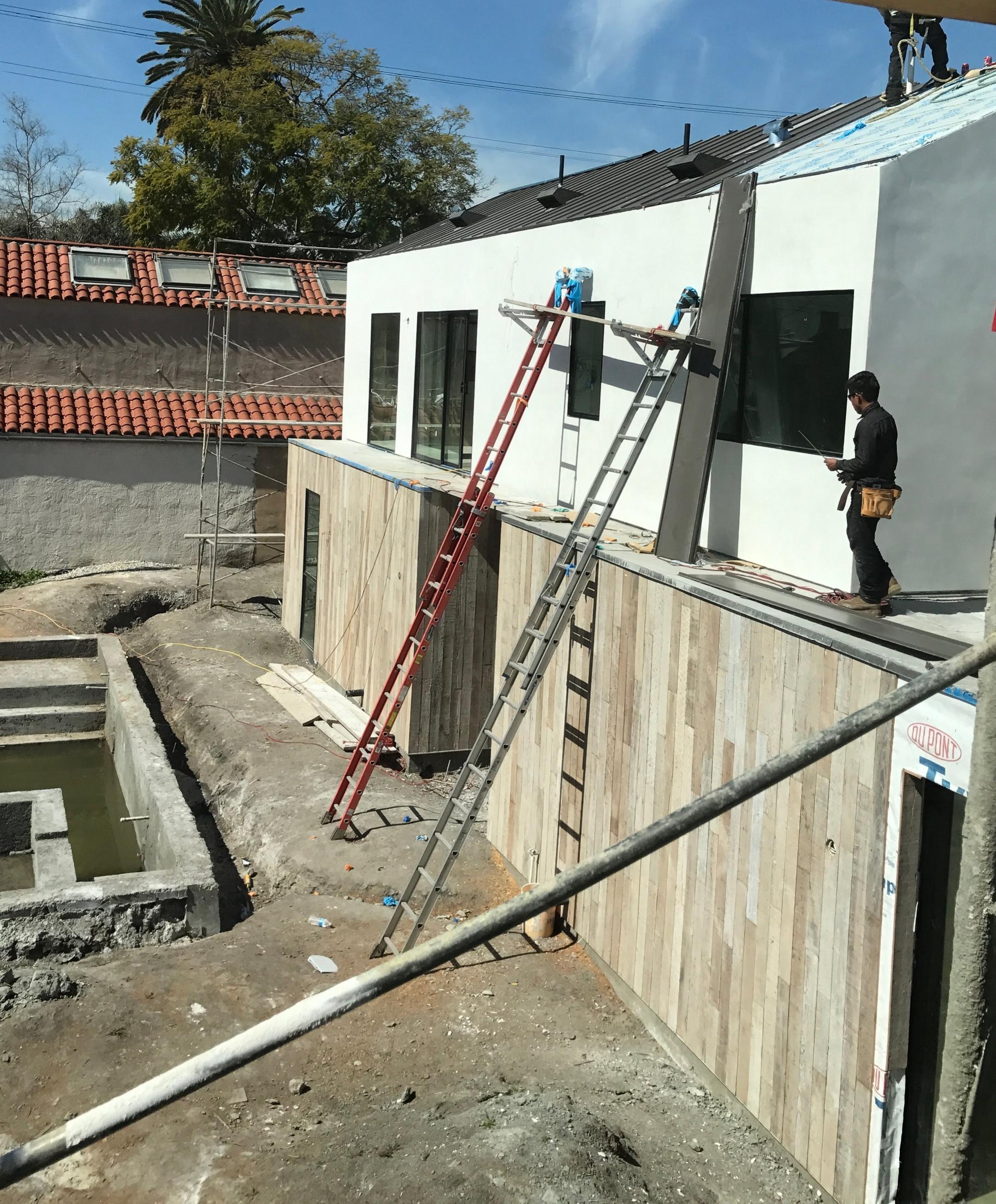 Standing Seam Metal Roof Install