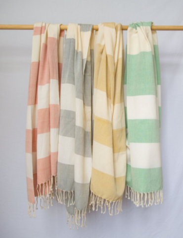 Luna Zorro Towels - When we think of the perfect beach towel- Luna Zorro is the first brand that comes to mind. Handwoven with 100% cotton, these towels are perfect for a long day at the beach. Purchase in a set of 4 for the whole crew!