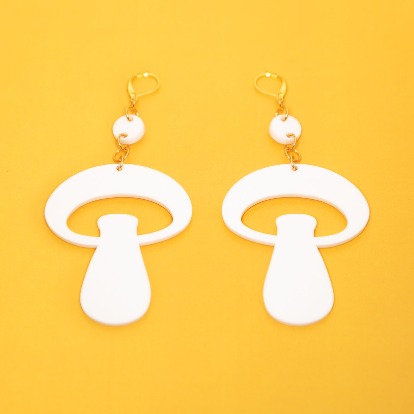 MindFlowers_Inner_Mushroom_Mega_White_Chain_Gold_Earring_1024x1024@2x.jpg