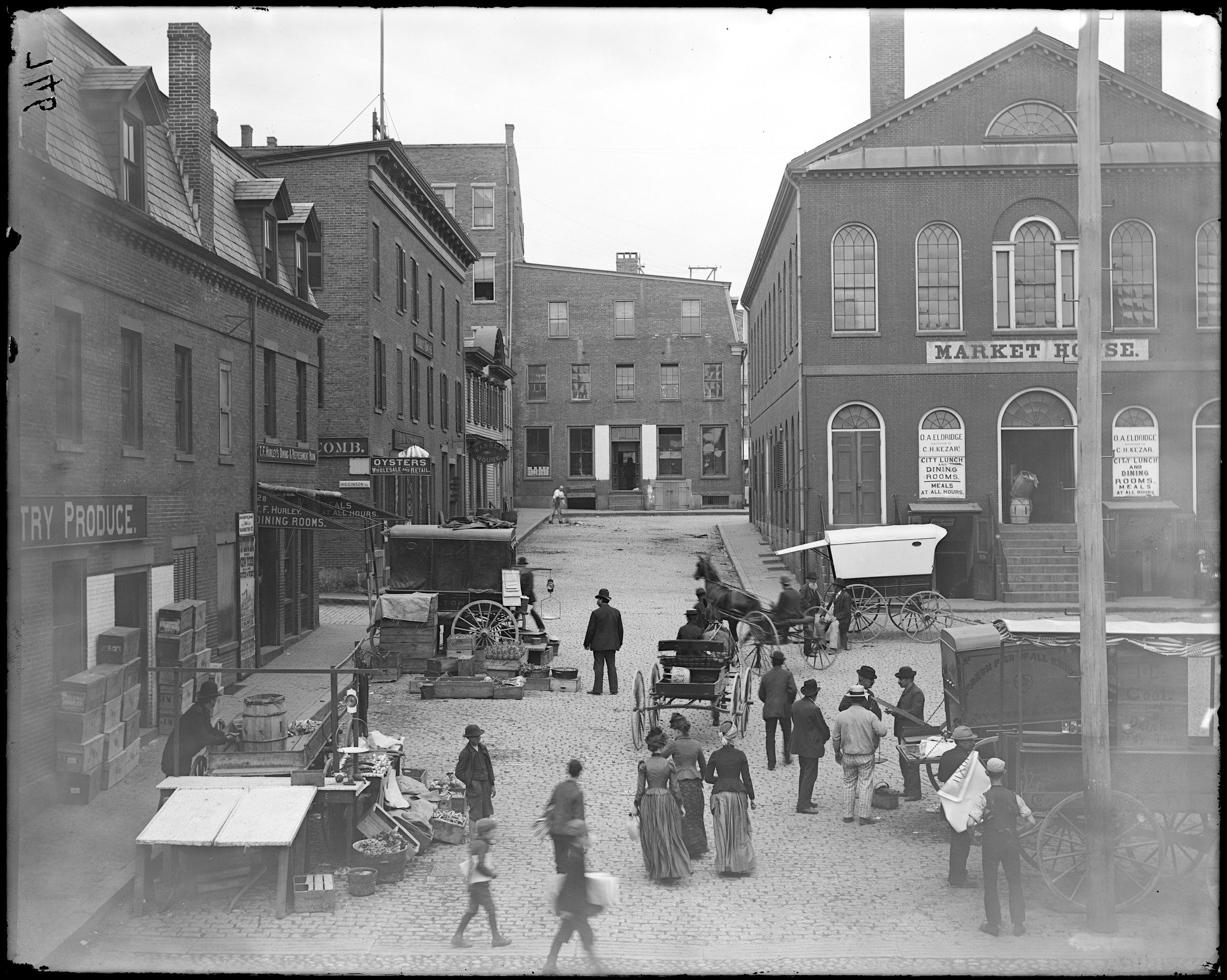 """Salem, Derby Square, Market House"""