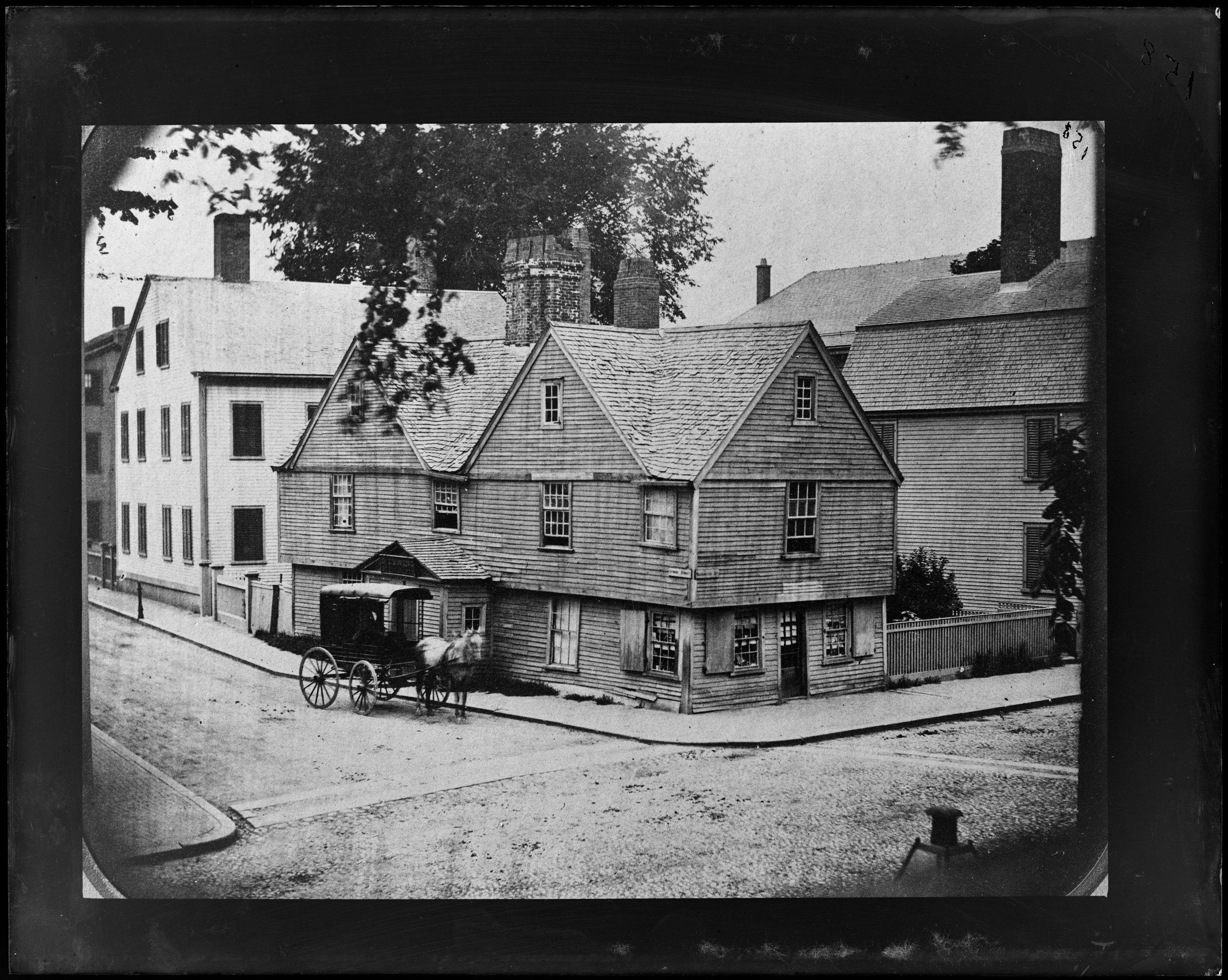 """Salem, Washington Street Corner Lynde Street"""