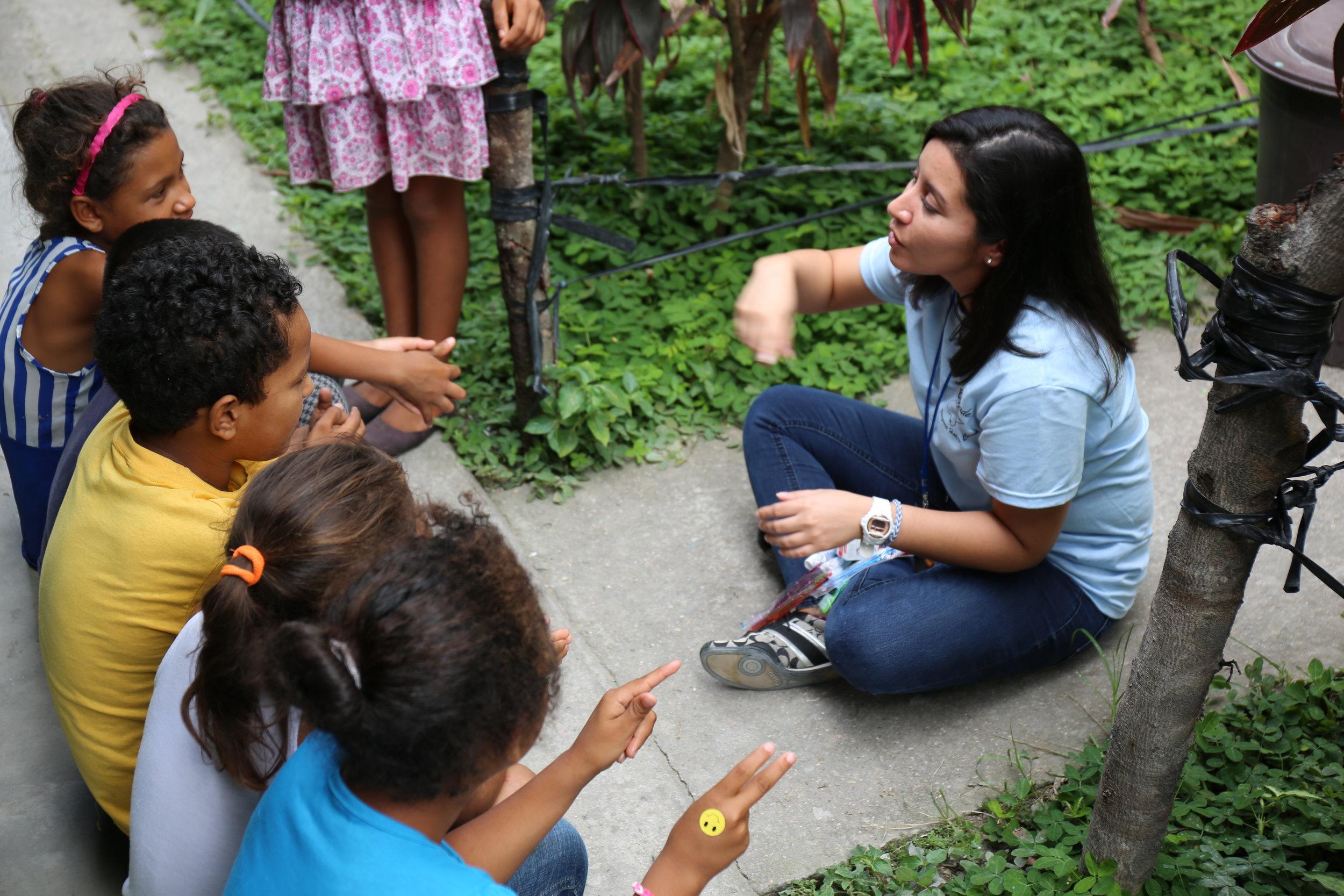 talking to children about sanitation