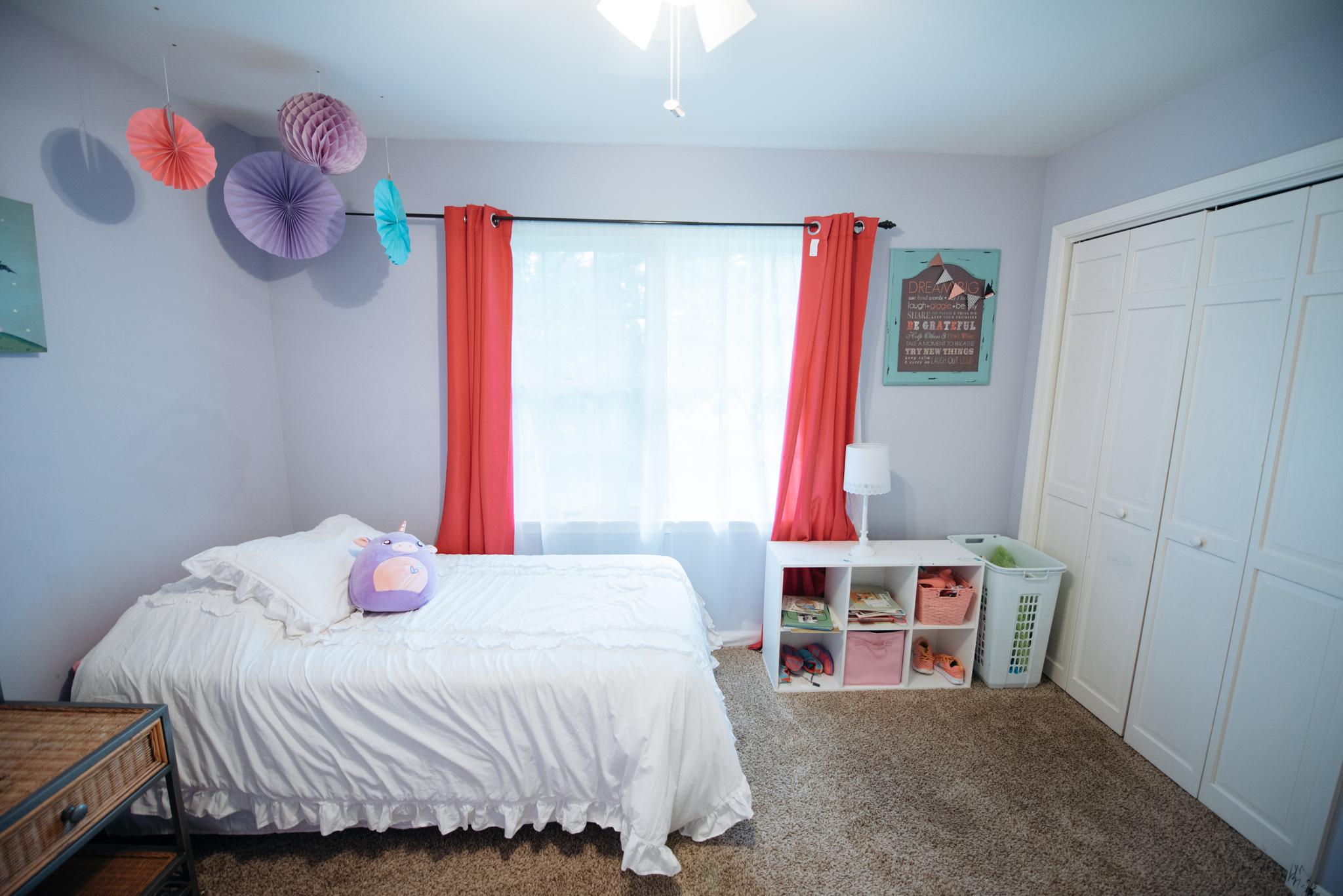 1st Bedroom - 10' x 12'