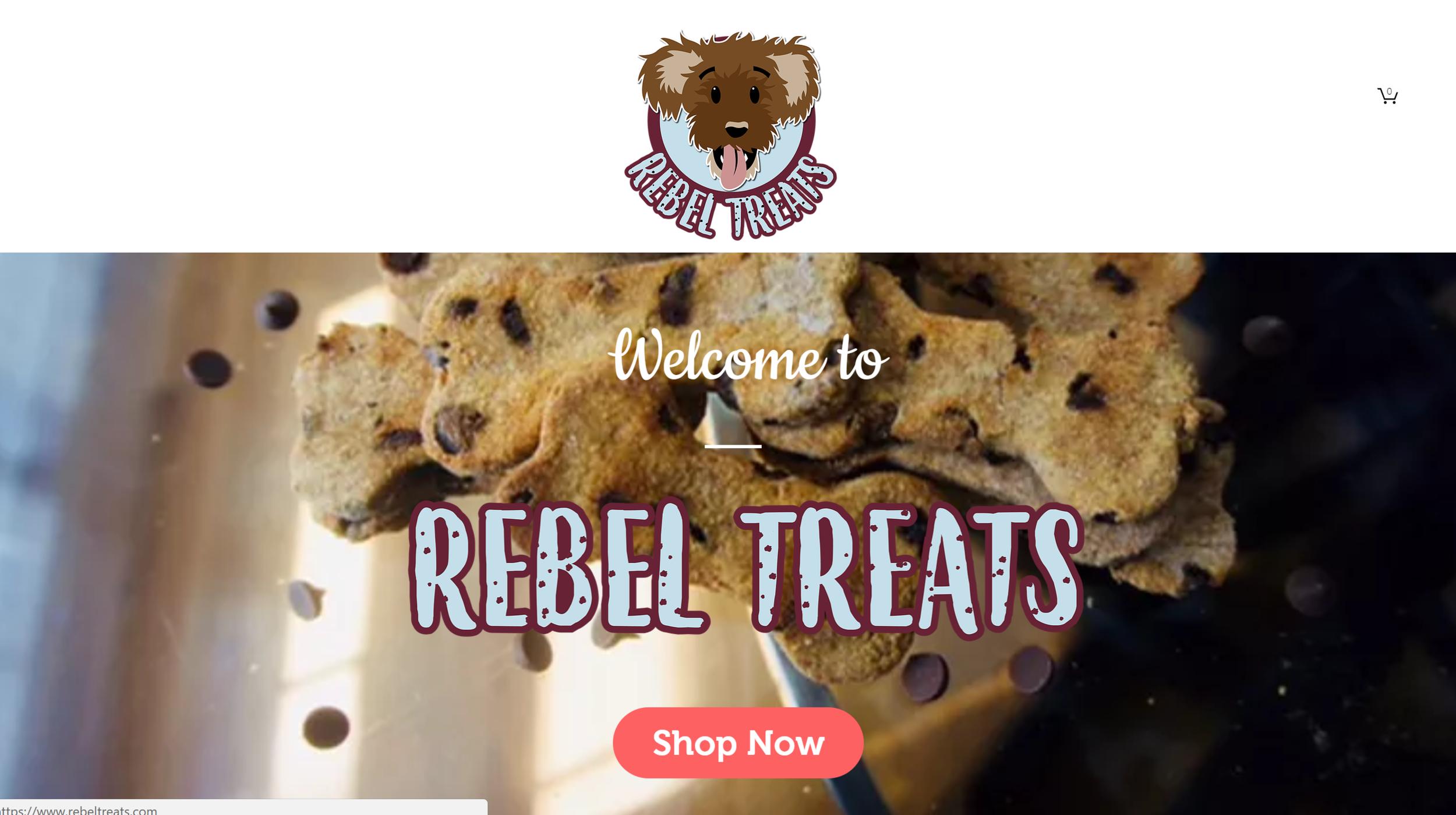 Rebel Treats Website