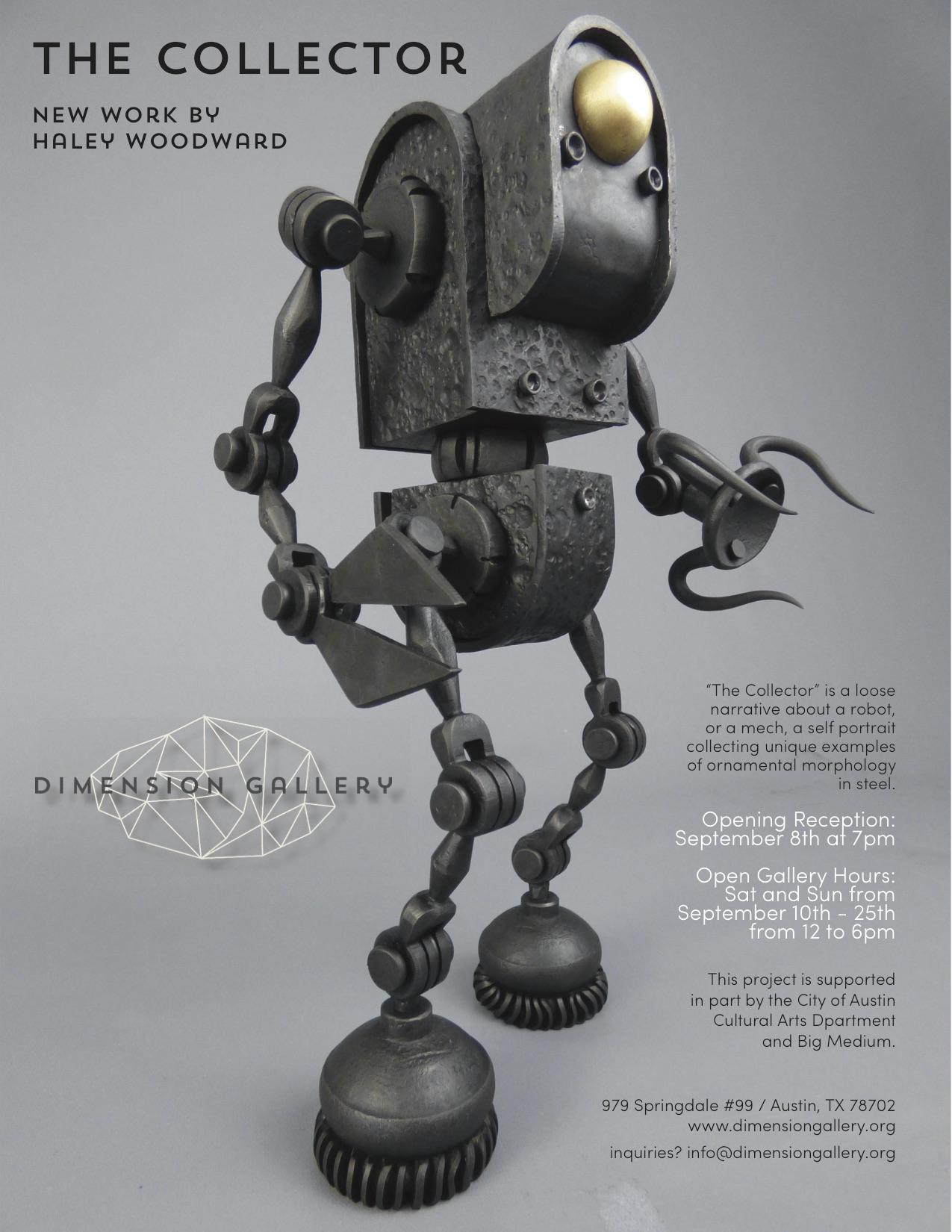 Cultural Arts - $3,000 for Haley Woodward Sculpture Studio - January 2016