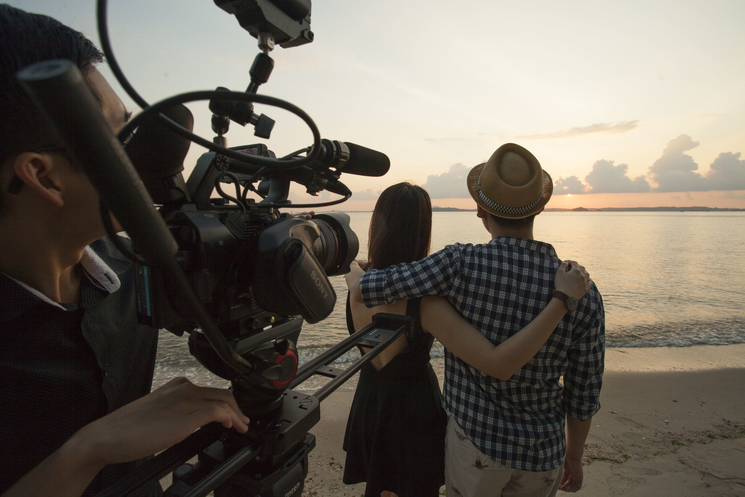 Shooting at sunset with the Sony FS5
