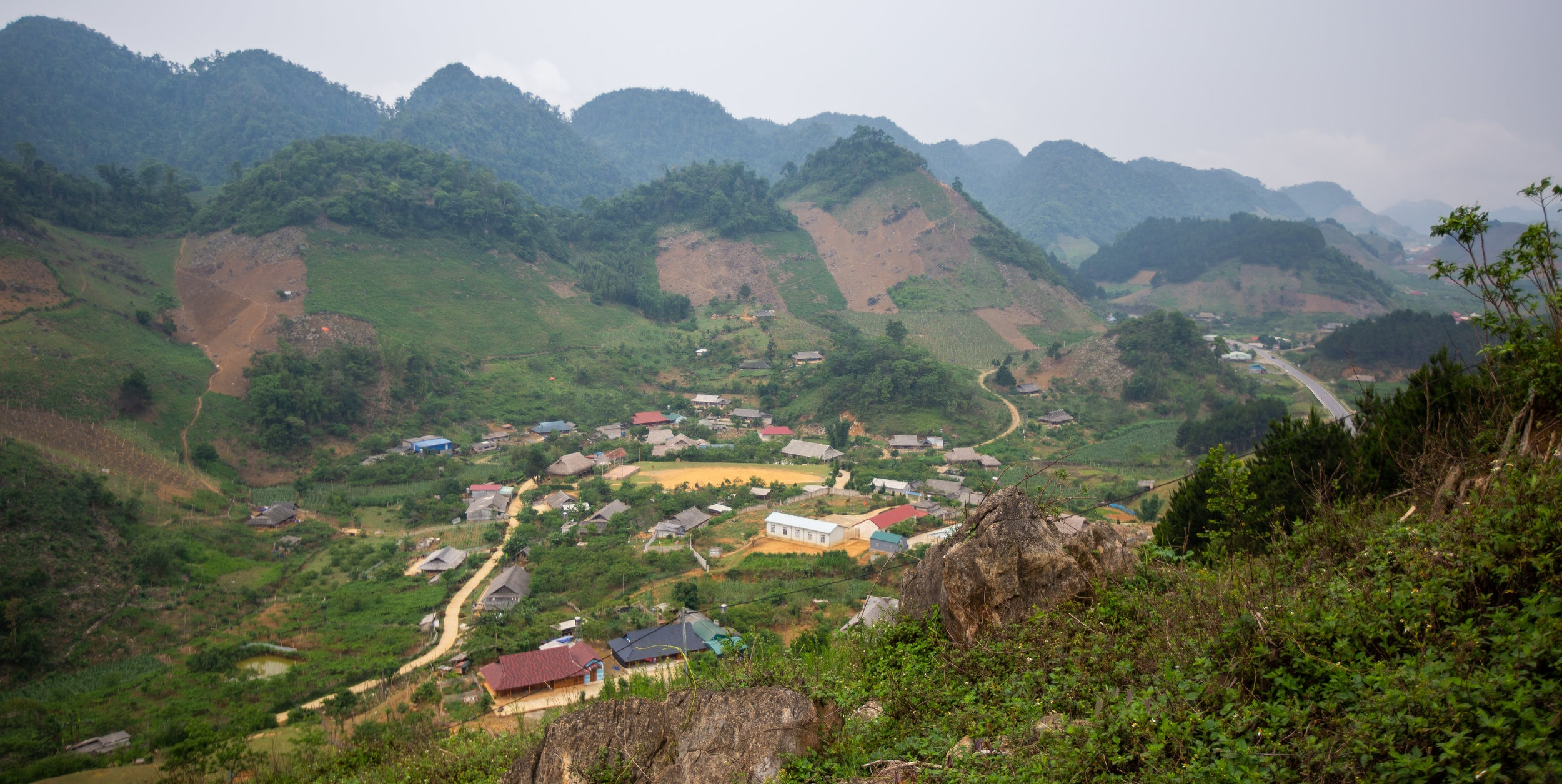 Overlooking Hua Tat Village