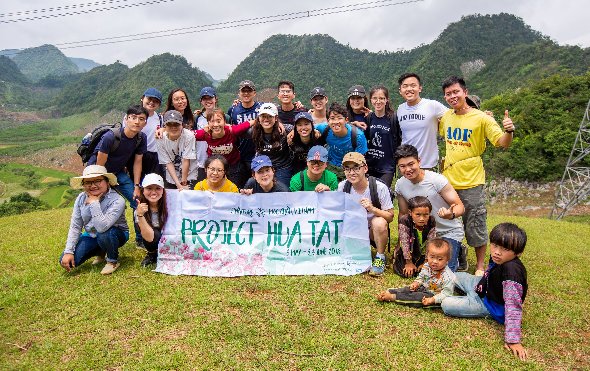 The Project Hua Tat team
