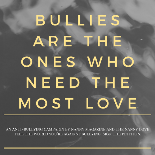 Nannies against bullying - Responsible for raising the next generation of an upstanding global community, we refuse to stand by and allow bullying to poison the world around us. Find anti-bullying resources and sign your name to take a stand against bullying.