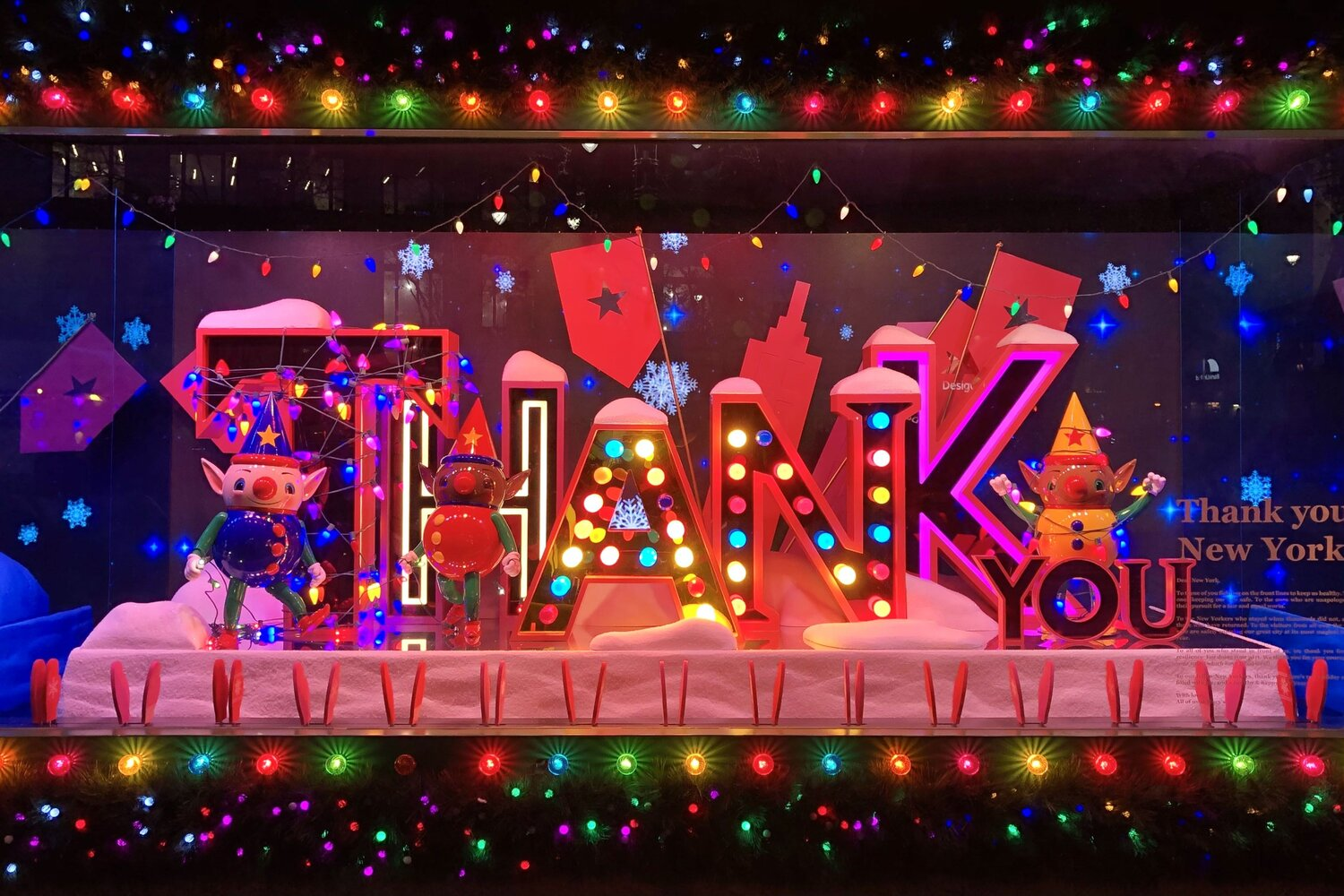 Christmas Windows New York 2021 12 Beautiful Christmas Windows To See In Nyc Updated For 2020 Marcofeng