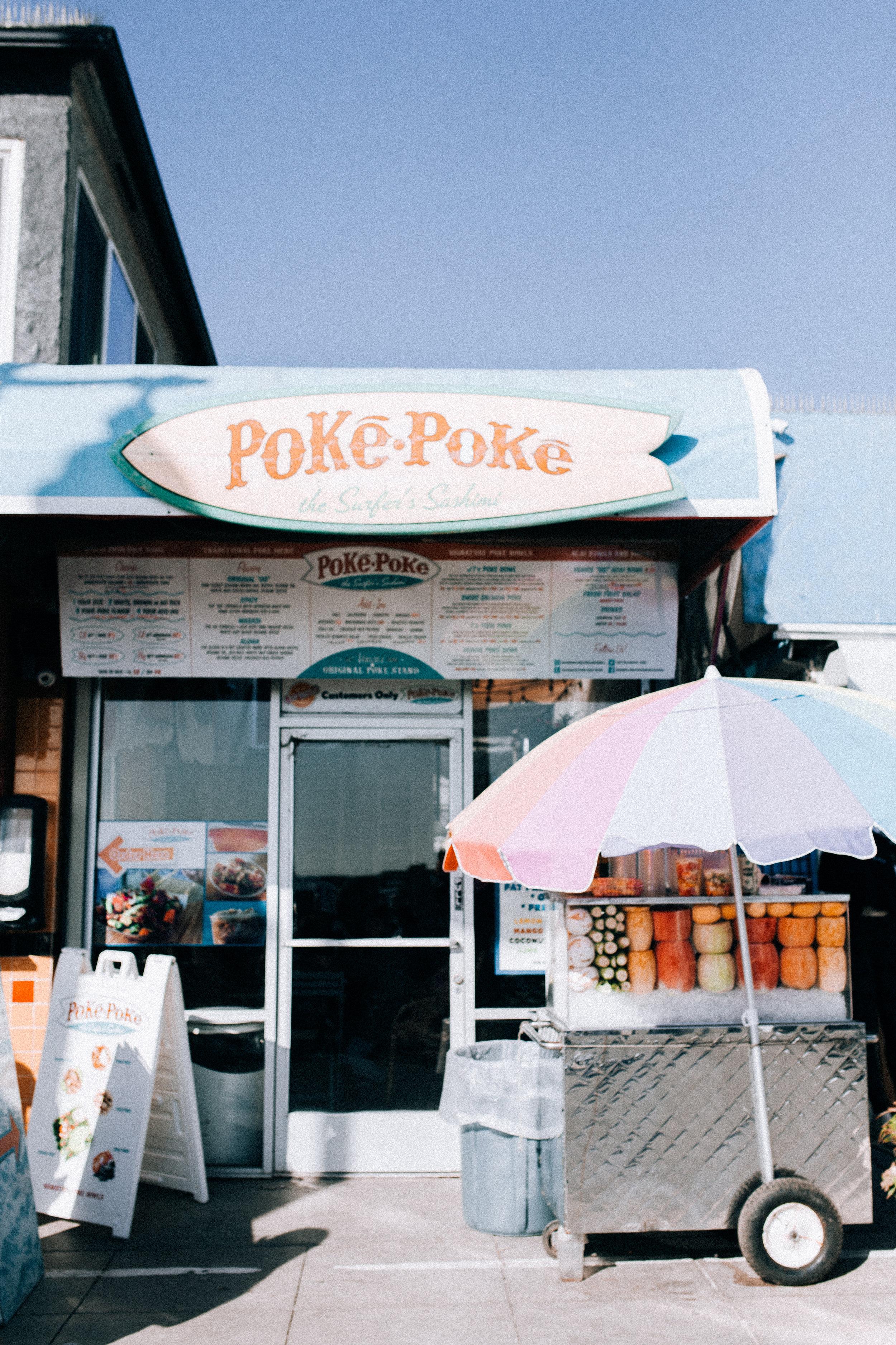 Poke Poke, Ocean Front Walk - Venice, California