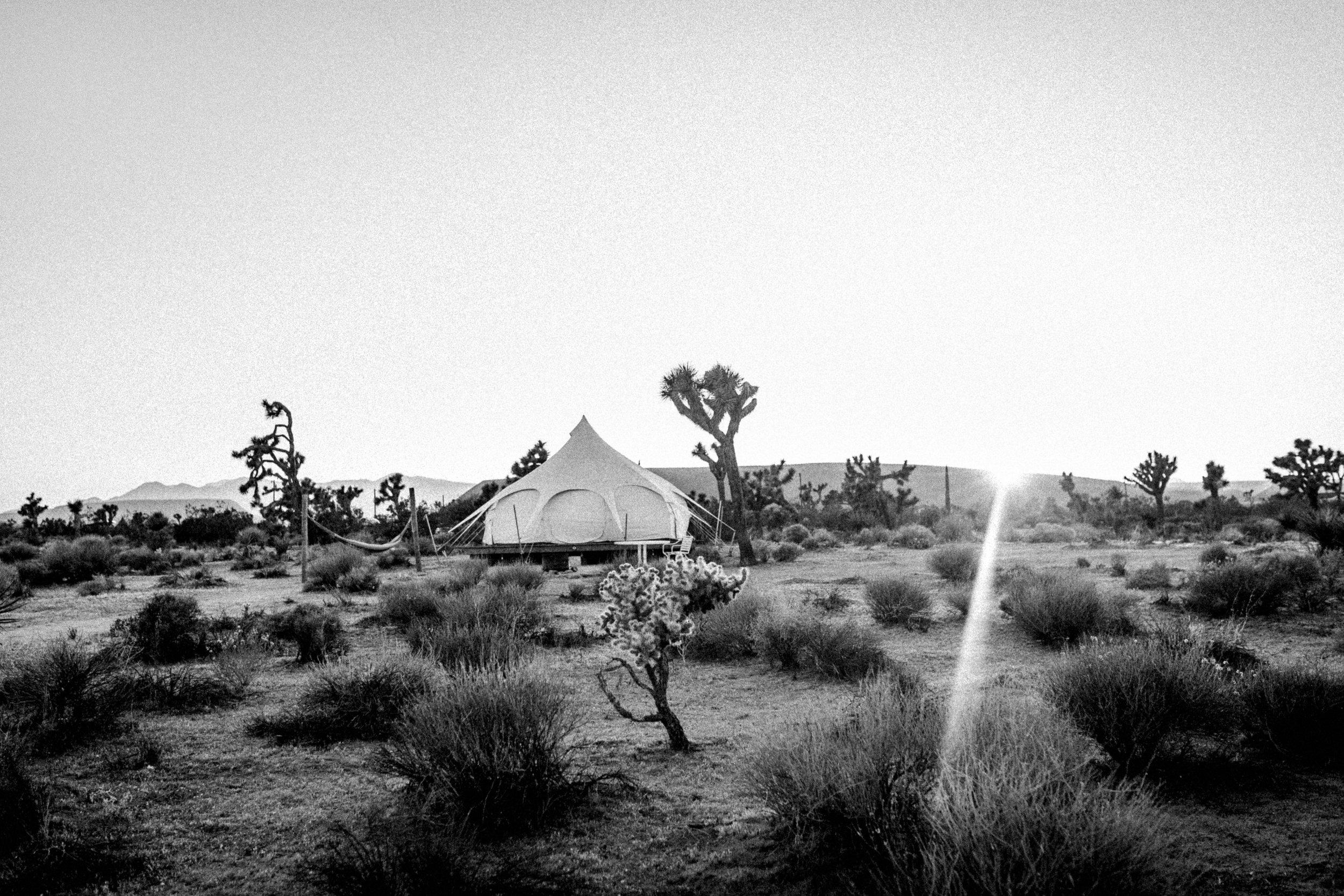 Camping - Yucca Valley, California