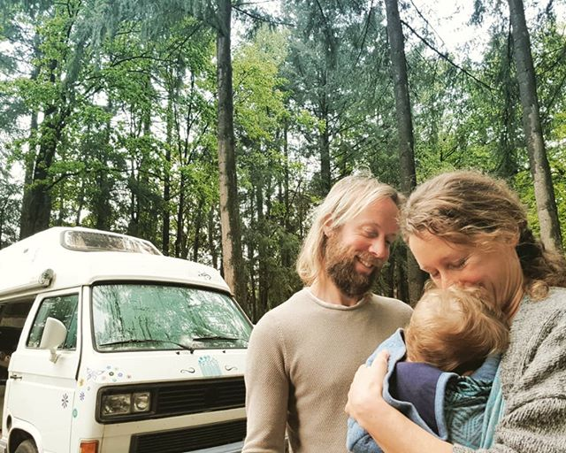Quality time with our vanlife baby!  While big brother is enjoying a sleep-over at grandma's, mom and dad and Bodhi are back to van life. Living in our van always feels like coming home, even if it's only for a few days. And so good to be able to give all our devoted attention to our baby, knowing that our oldest boy is having a great time as well. ❤
