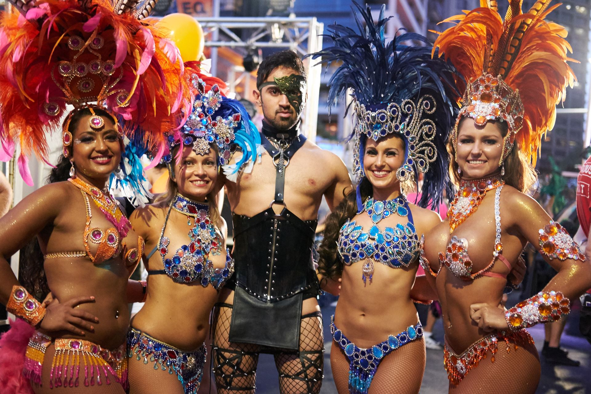 These Samba dancers are a fan favourite every year... I for the life of me have no idea why... lol