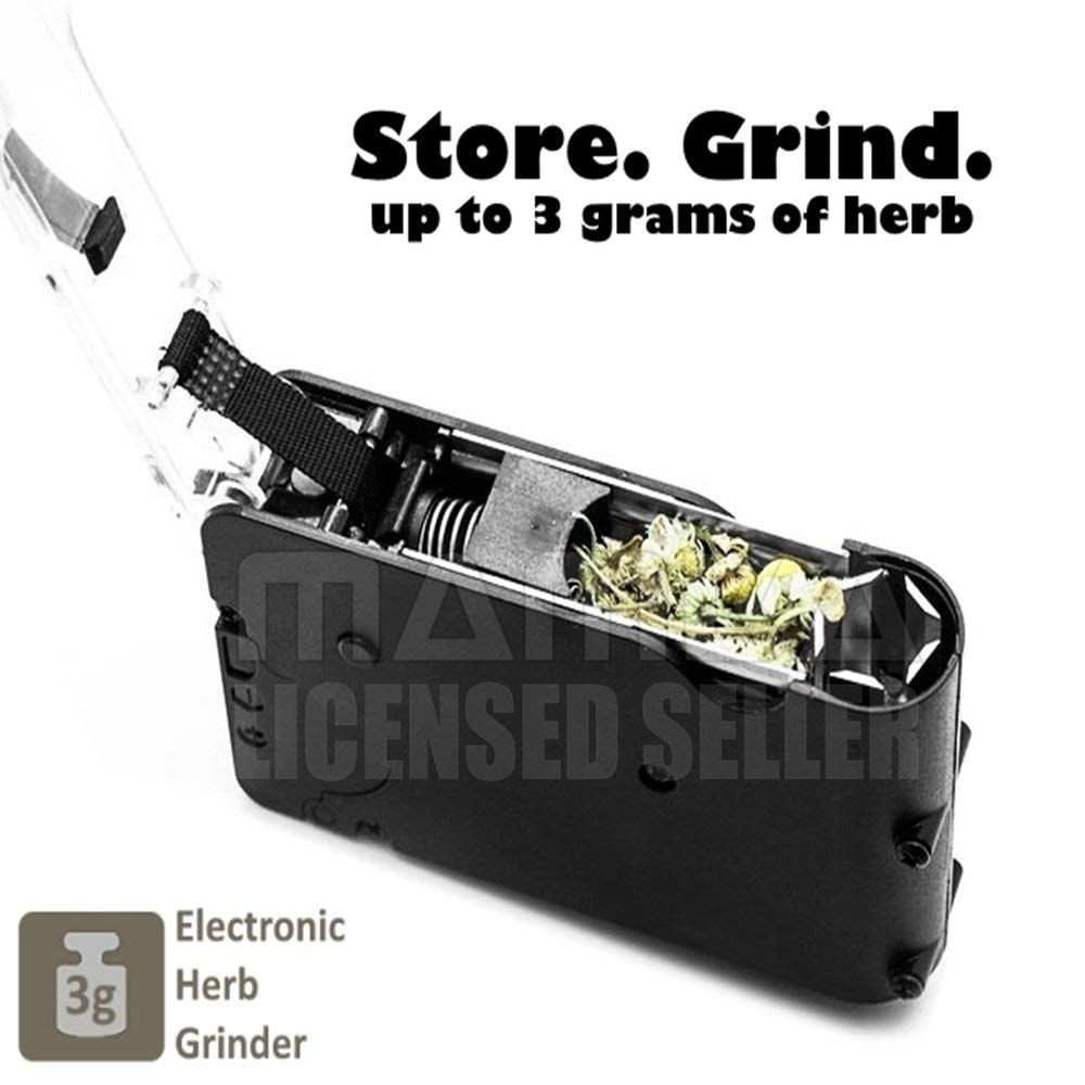 One-Handed Operation No Fuss Chewy Battery Powered Herb Grinder No Mess Razo
