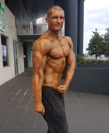 Meatless since 7 years old - Our very own Geoff weighing in at 92KG at 6'2 has been bodybuilding for 15 years, and hasn't had meat since the age of 7. Click his image to learn how he does it in his latest interview.