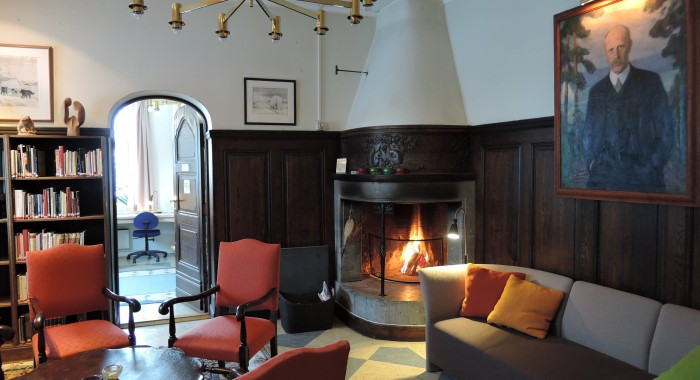 The fire place lounge