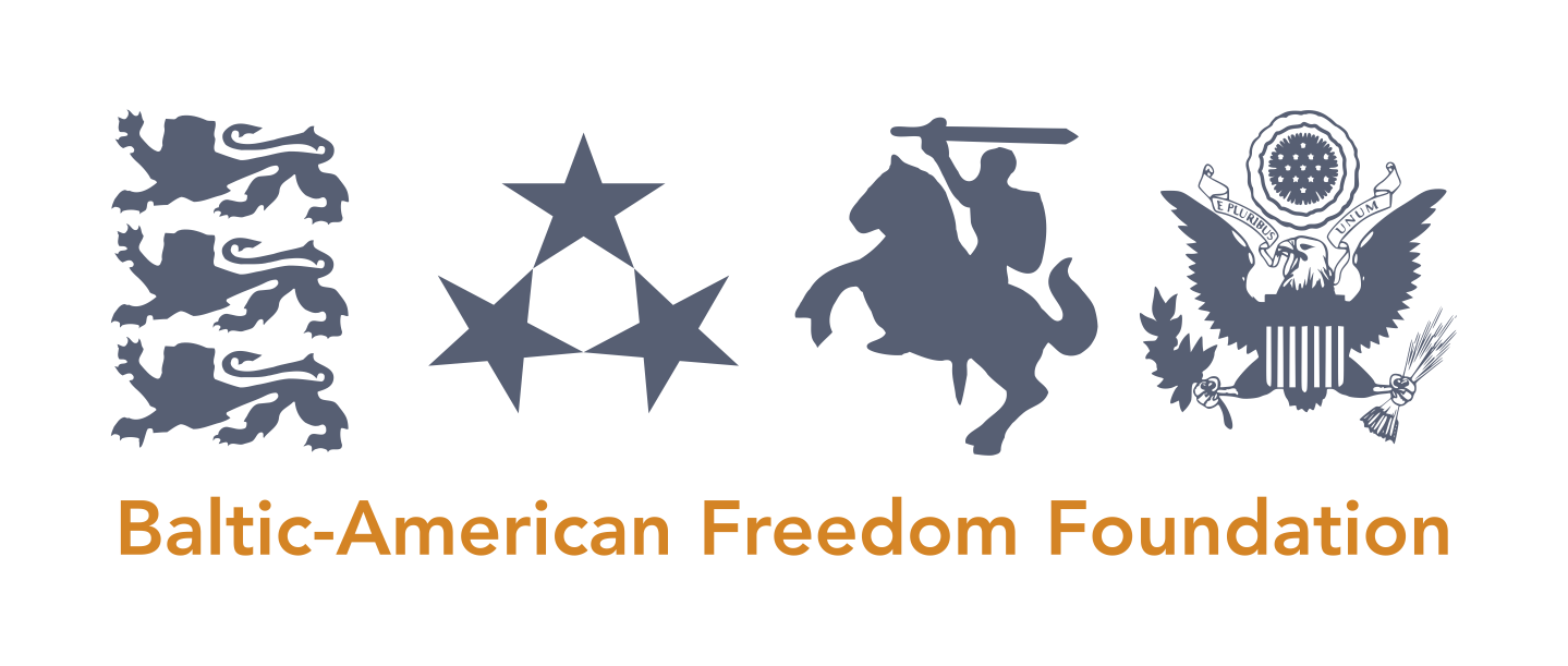 This program is made possible by funding from the Baltic-American Freedom Foundation (BAFF).