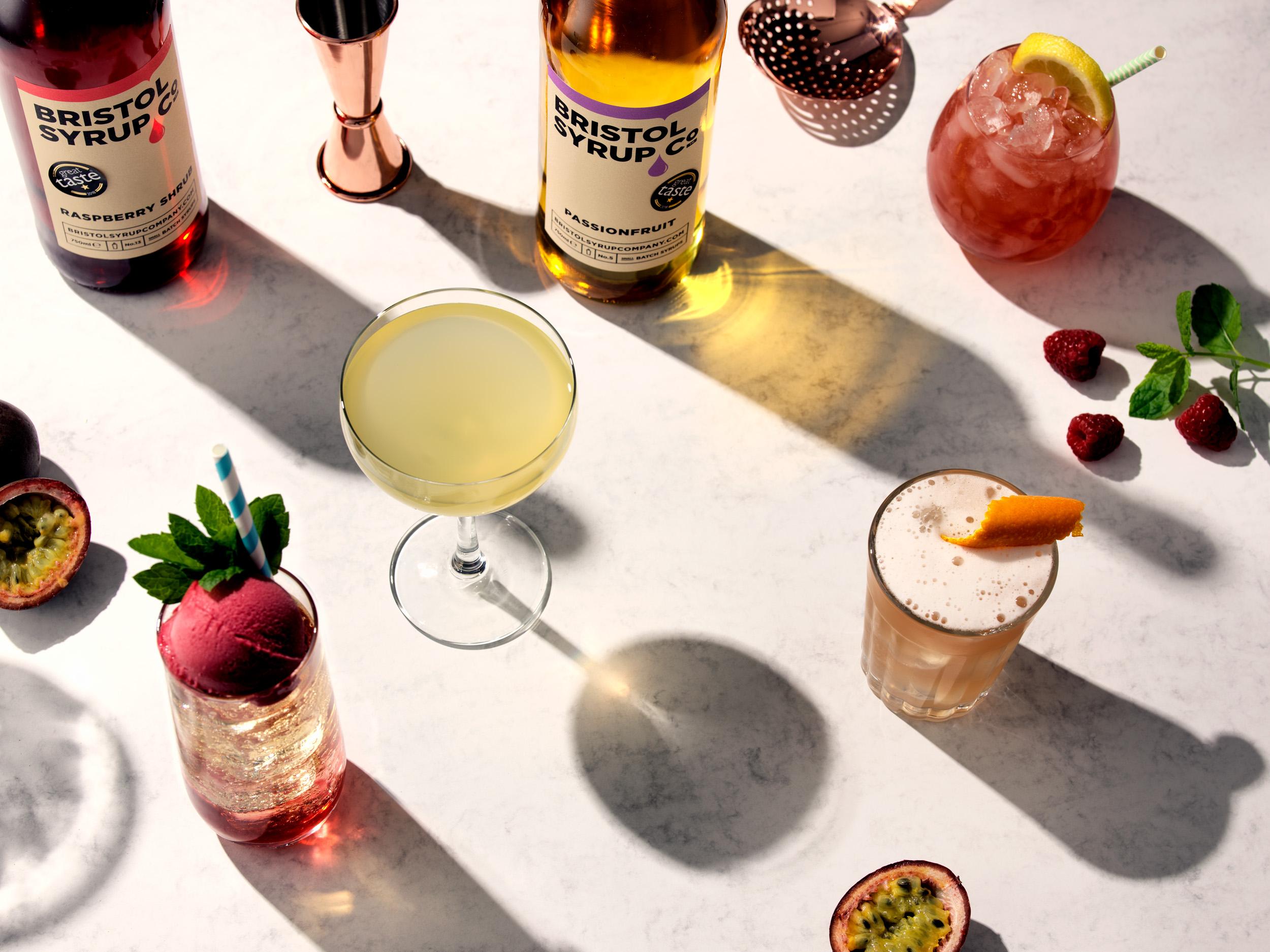 Bristol Syrup Co - Great Taste bottles + cocktails