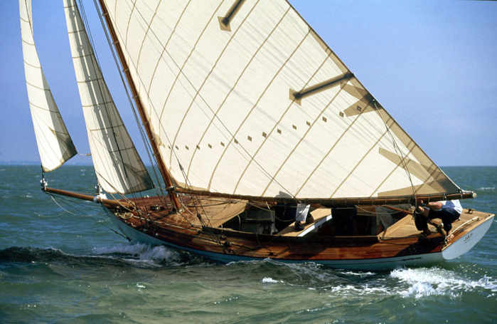 Jap on starboard in the Solent