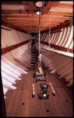 Inside the Fife designed 8M Carron II