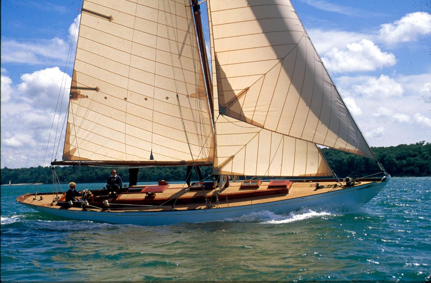 Madrigal M on sail trials in the Solent