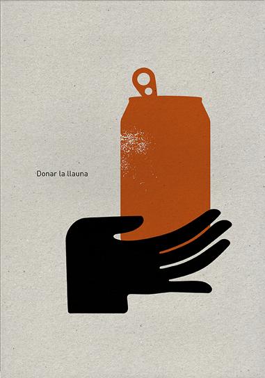 Donar la llauna