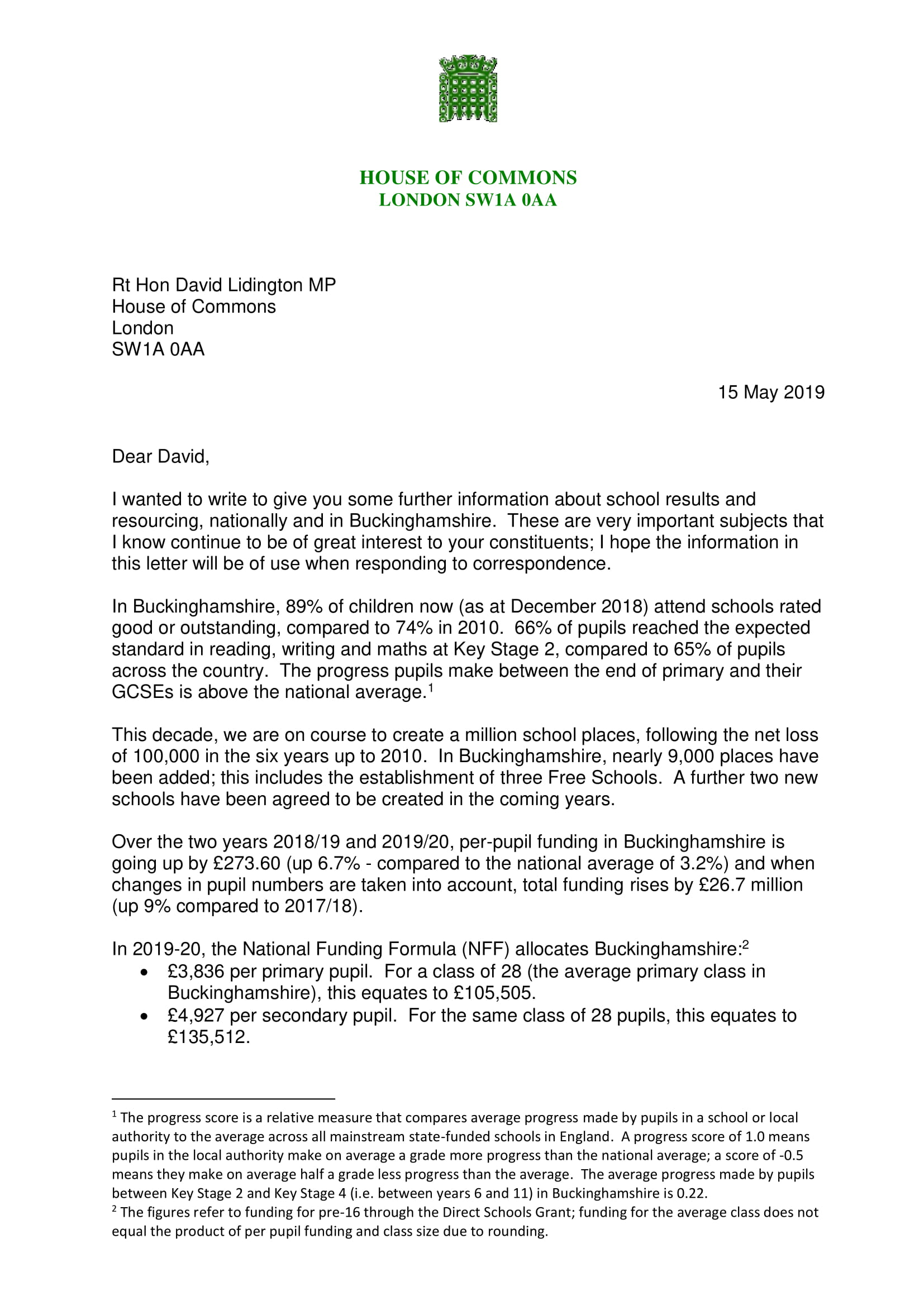 DH to David Lidington – School resourcing in Buckinghamshire May 2019-1.jpg