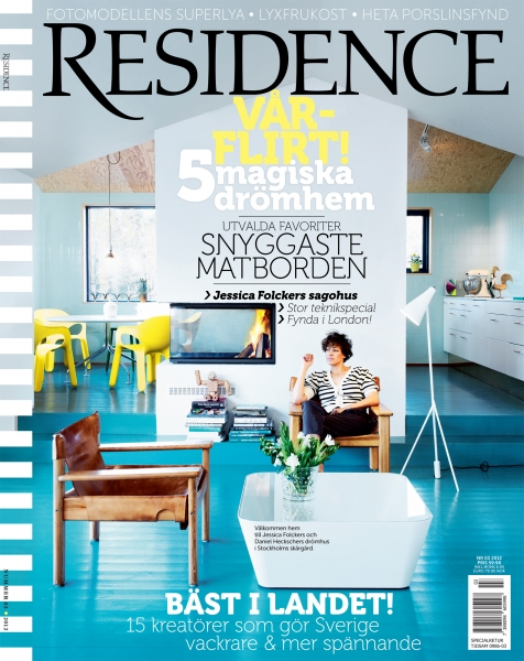 STYLING FOR COVERSHOOT- RESIDENCE MAGAZINE